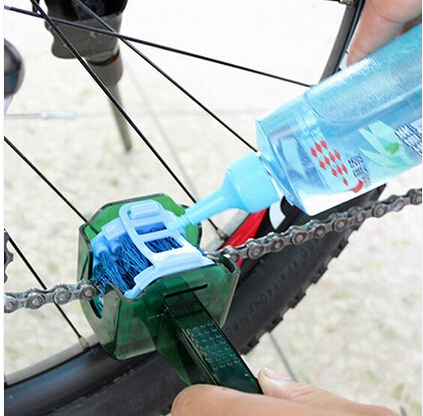Cycling MTB Bike Bicycle Chain Cleaner Multi Tool Set Flywheel Clean Wash Kit Cassette Quick Clean Tool Brushes Scrubber box(China (Mainland))