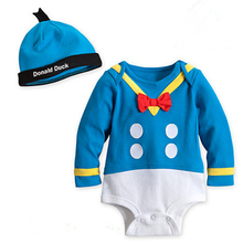 Baby Boy Clothes cartoon autumn Gentleman long sleeve climb jumpsuit bodysuits newborn baby clothing girl sets infantil bebes(China (Mainland))