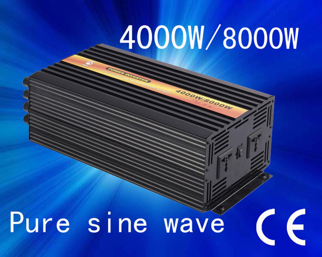 Excellent Quality!! 48v 127v 4000w Pure sine wave invertor(CTP-4000W)