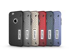 Cubix For apple iphone6s Case Ultra slim Hybrid Mesh Defender Case cover with Heat Ventilation for iphone6s Case with holder