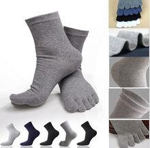 2pcs/pair Men Women Socks Sports Ideal For Five 5 Finger Toe Shoes Unisex Hot sale