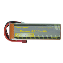 You&me RC Batteria 22.2V 4400MAH 35C MAX 70C AKKU LiPo RC Battery 6S For Helicopter Quad copters