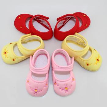 Baby Shoes Kids Cotton First Walkers Skid Proof Sapato Infantil Baby Girls Shoes New
