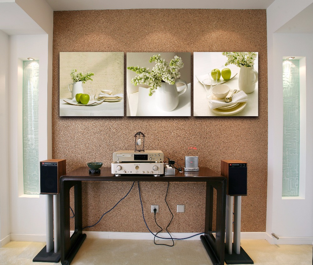 Popular dining room wall decor buy cheap dining room wall for Wall art ideas for the dining room
