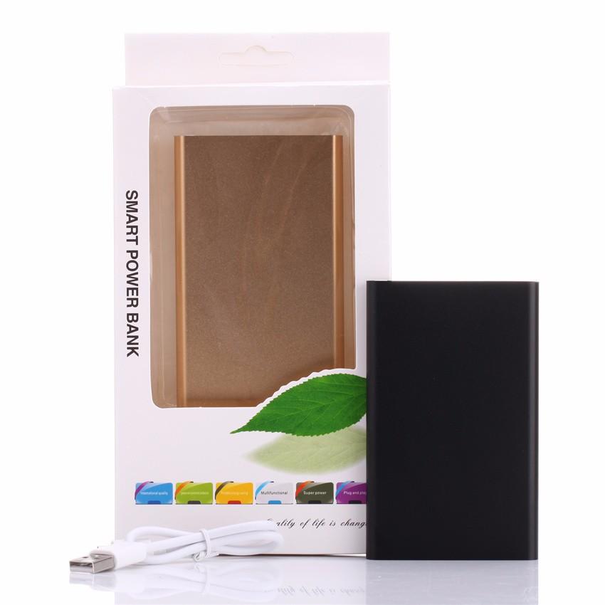 Ultra Slim Power Bank 4000mAh Portable Powerbank External Mobile Battery Charger carregador portatil para celular For Cell Phone