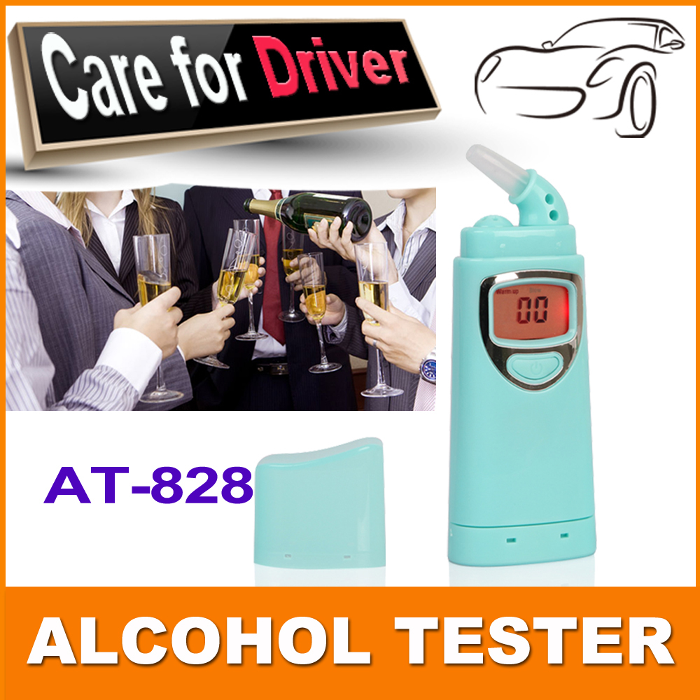 Patent New design professional alcohol breath tester with mouthpiece/alcometer in very low price Free Shipping with tracking(China (Mainland))