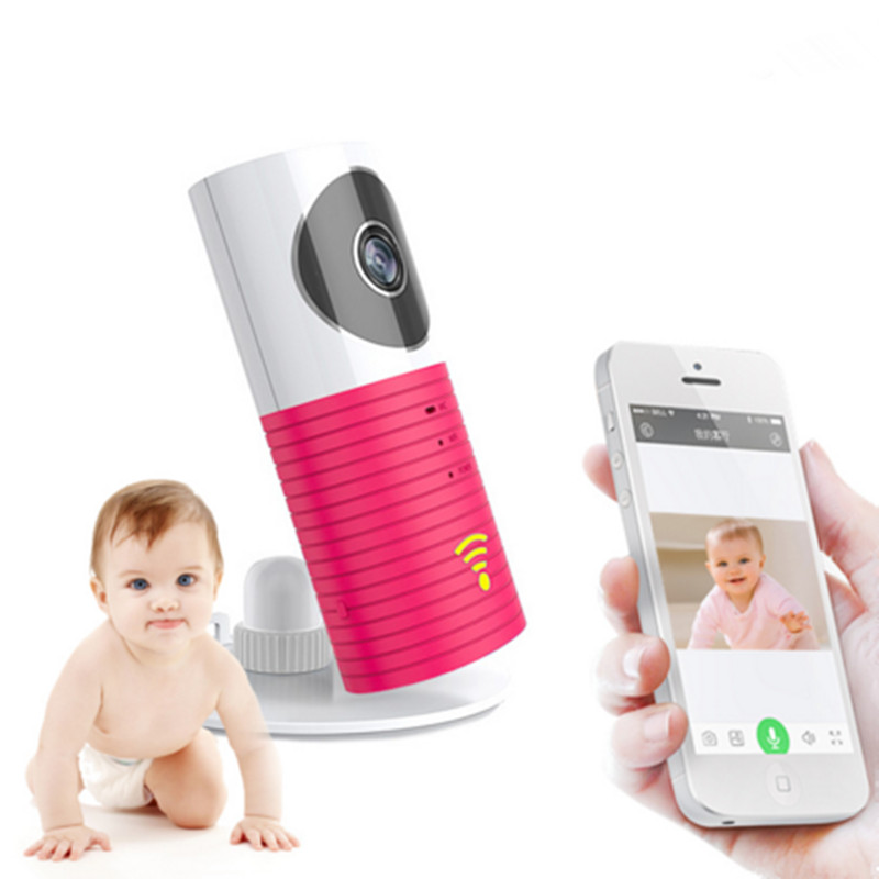 Wireless Wifi Baby Monitor 720 IP Baby Video Monitor Intelligent Alerts Nightvision Intercom Wifi Camera Support iOS Android(China (Mainland))