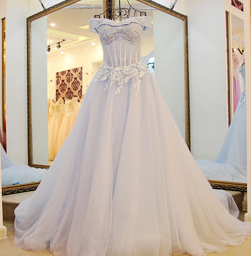 Compare prices on bridal gowns patterns online shopping for Wedding dress beading patterns