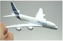 Free Shipping,A380 Airbus 14cm metal airplane models airplane model airbus prototype machine(China (Mainland))