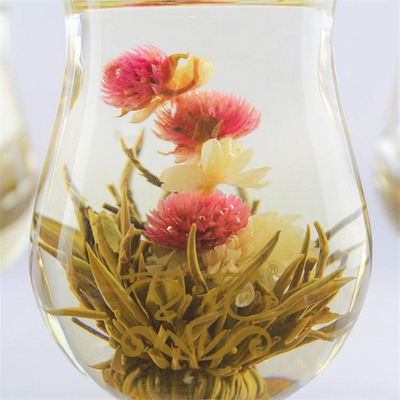 New Jasmine Chinese Ball Handmade Blooming Flower Herbal Tea Drinking Gift Green Healthy Tea<br><br>Aliexpress