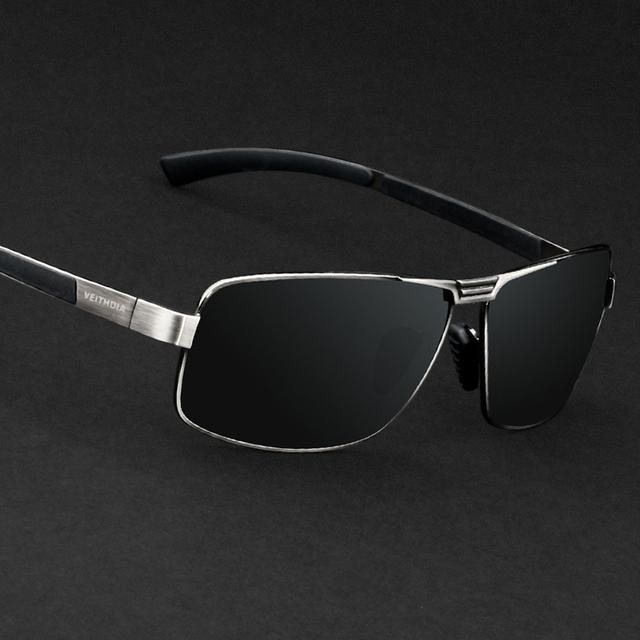 Мужские солнцезащитные очки с поляризационными линзами. Зеркальные мужские очки для ...