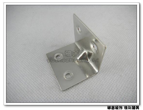 Buy thick stainless steel angle code bracket iron tripod