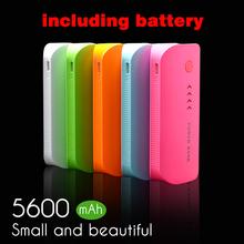 Power Bank 5600mAh USB External Mobile Backup Powerbank Battery for iPhone iPod iPad mobile Phone Universal Charger(China (Mainland))
