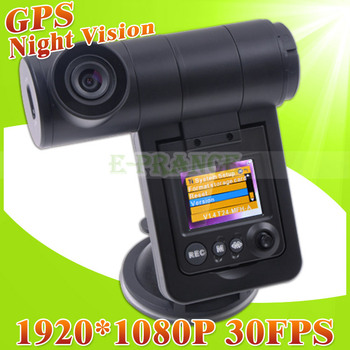 V3000GS Full HD 1080P Car DVR Dash Cam Camera Camcorder Video Recorder with GPS  G-Sensor Night Vision HDMI H.264