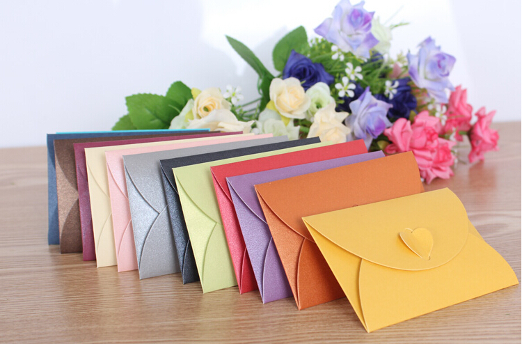 100pcs/lot Free shipping new style wedding gift pack office school supply mini paper envelopes letters bag mini Invitation card(China (Mainland))