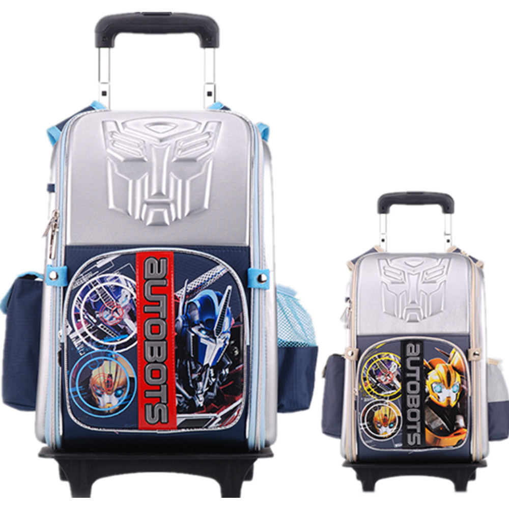 Kids Backpack With Wheels For School - Crazy Backpacks