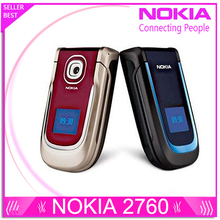 Nokia 2760 original cellphone unlocked phones with camera support russian keyboard and russian menu(China (Mainland))