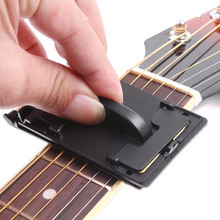Guitar Bass Strings Scrubber Fretboard Cleaner Instrument Body Cleaning Tool free shipping(China (Mainland))