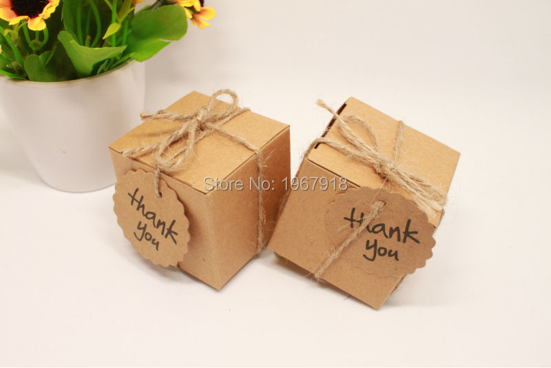 Wholesale kraft paper wedding candy box vintage wedding decoration kraft paper wedding candy box vintage wedding decoration rustic wedding centerpieces event party supplies baby shower junglespirit Image collections