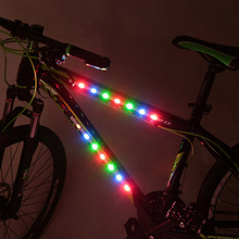 Buy 3 modes 14 LED bulbs Waterproof Bike Bicycle Wheel Spoke Light Cool Bike Tire Light Decorative Cycling LED Light Article Safety for $4.56 in AliExpress store