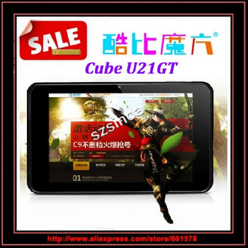 beiyong---Freee Shipping Cube U21GT 7inch IPS Screen RK3066 Dual Core 1GB/16GB Android 4.1.1 HDMI Wi fi Camera Tablet PC