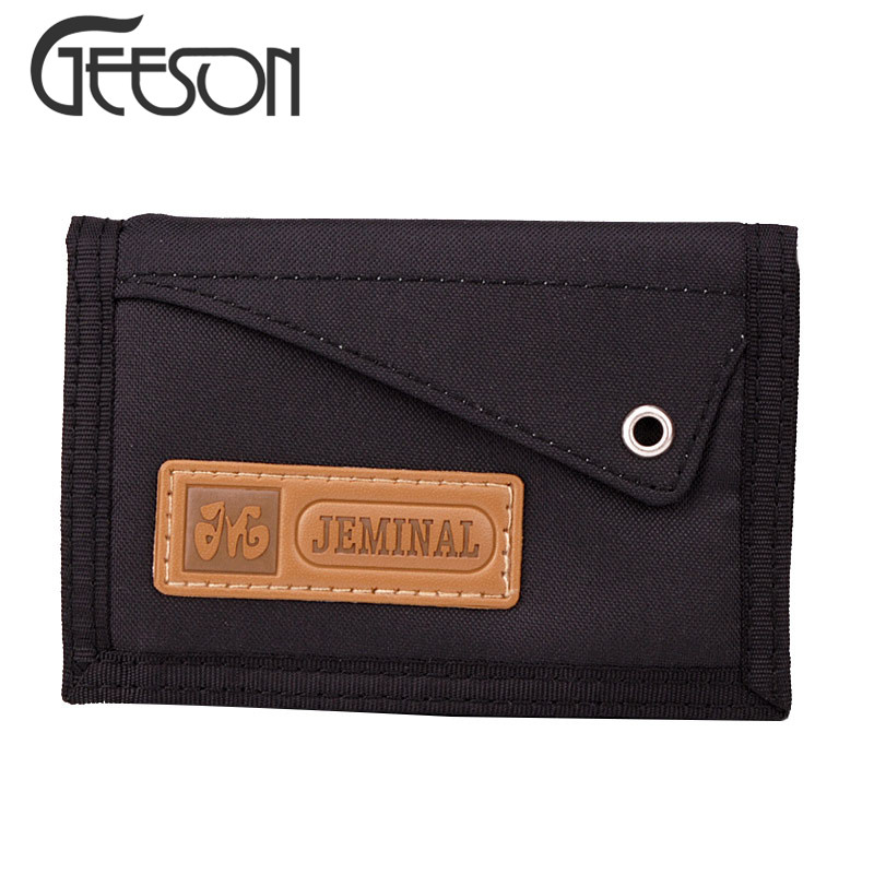Summer Boy's Sport Purse Canvas Wallet For Men Trifold Casual Wallets Clutches Man Carteira Masculine Credit Card Holder KW311(China (Mainland))