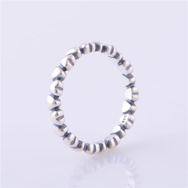 Реальная стерлингового серебра 925 моя принцесса с внутренней сердца к сердцу кольцо ...