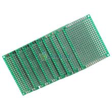 10pcs 4x6cm Double Side Prototype PCB Universal Printed Circuit Board  S7NF