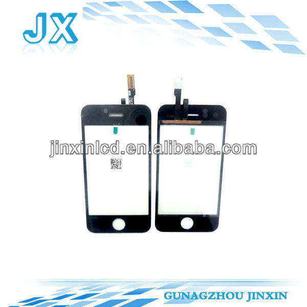 20pcs/lot digitizer replacement for iphone 3G touch screen by free shipping(China (Mainland))