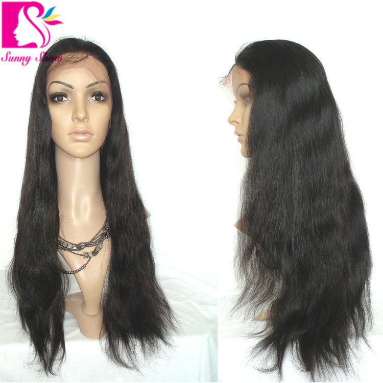 Здесь можно купить  Cheap King Brazilian Full Lace Human Hair Wigs Silky Straight For Black Women Virgin Brazilian Wig With Baby Hair Bleached Knots Cheap King Brazilian Full Lace Human Hair Wigs Silky Straight For Black Women Virgin Brazilian Wig With Baby Hair Bleached Knots Волосы и аксессуары