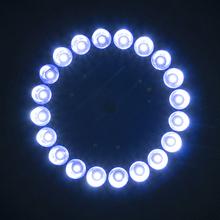 Verbesserte Solar Licht 26/20 LEDs Fahnenmast Top Mount Für Hof Camping Garten Inneneinrichtungen(China (Mainland))