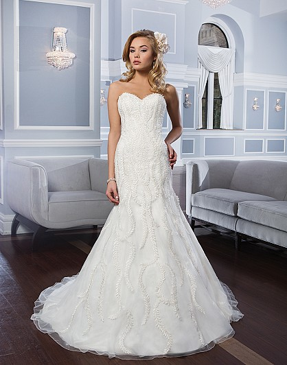 Aliexpress Buy New Design Wedding Dress 2015 Simple Strapless Elegant Mermaid Wedding