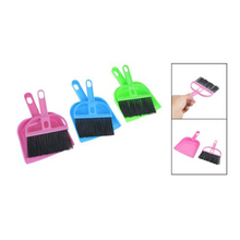 Personal style Car Keyboard Cleaning Whisk Broom Dustpan Set 3 Pcs Assorted Color(China (Mainland))