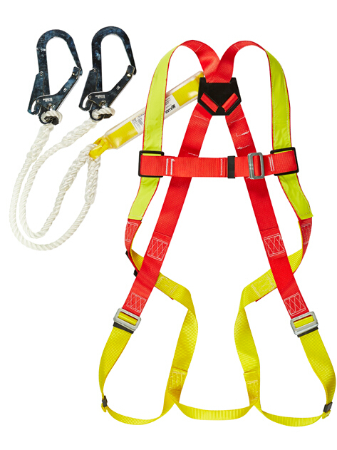 Honeywell brand DL-C2 Workplace safety belts sets Integrated body safety harness reflective line 1.2meter rope(China (Mainland))