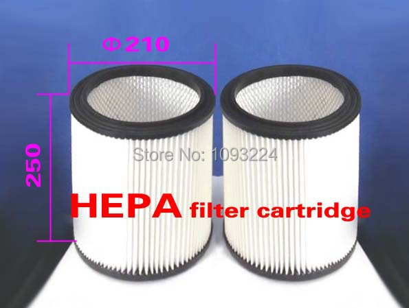 HEPA filter cartridge (Used inside Three-stage cyclone head ) (8 pieces)(China (Mainland))