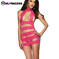 Owlprincess New Bandage dress hollow out bodysuits sexy Lingerie Sets solid Teddies bodystocking sex Exotic catsuit
