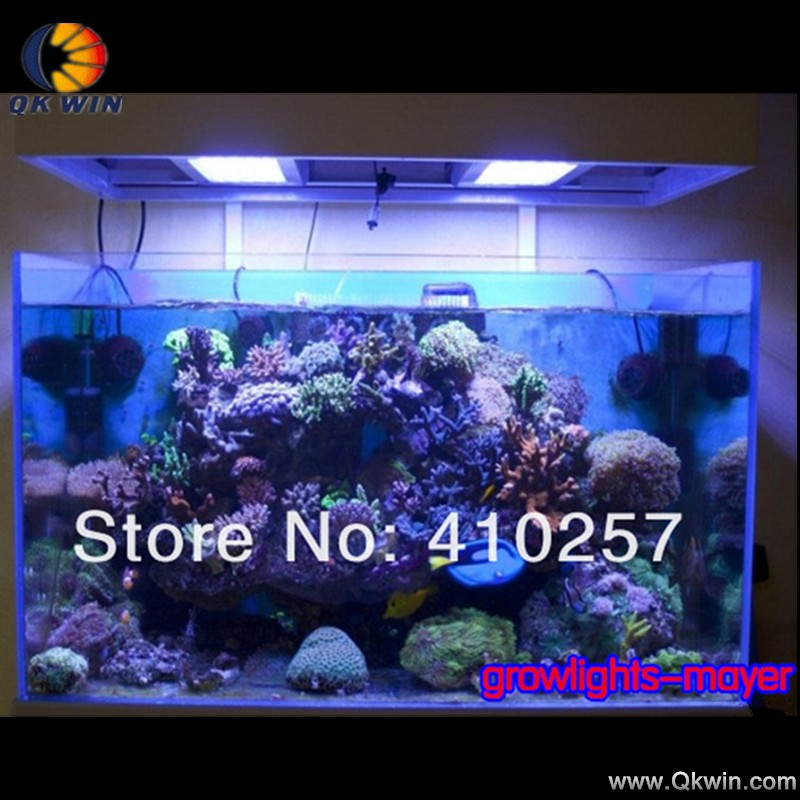 180W Dimmable LED Full Spectrum Grow Fish Tank Reef Coral ...