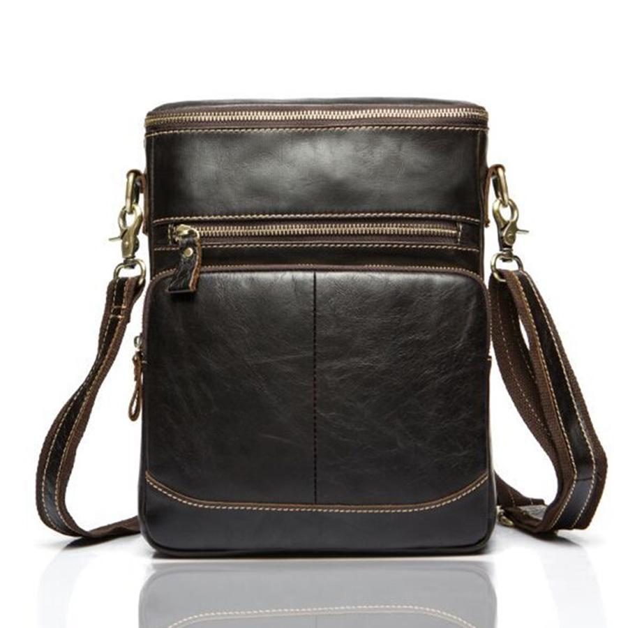 Hot selling 100% Genuine Leather bags Men bag men Messenger Bags men travel bag crossbody Shoulder 2016 new Free Shipping<br><br>Aliexpress