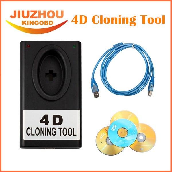 2016 Lowest Price 4D Cloning Tool Auto Key Programmer 4D CLONER Auto 4D Cloner Box Car Transponder Chip Key Programming(China (Mainland))