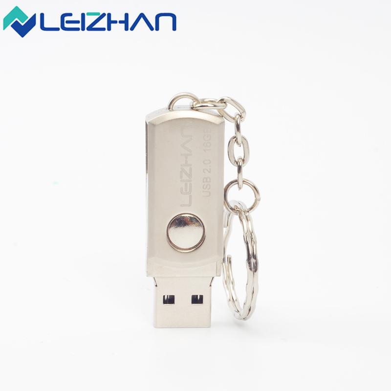 The Key Ring Metal usb flash drive mini high speed pen dirve usb 2.0 pendrive 4GB 8GB 16GB 32GB 64GB Memory Saver device(China (Mainland))