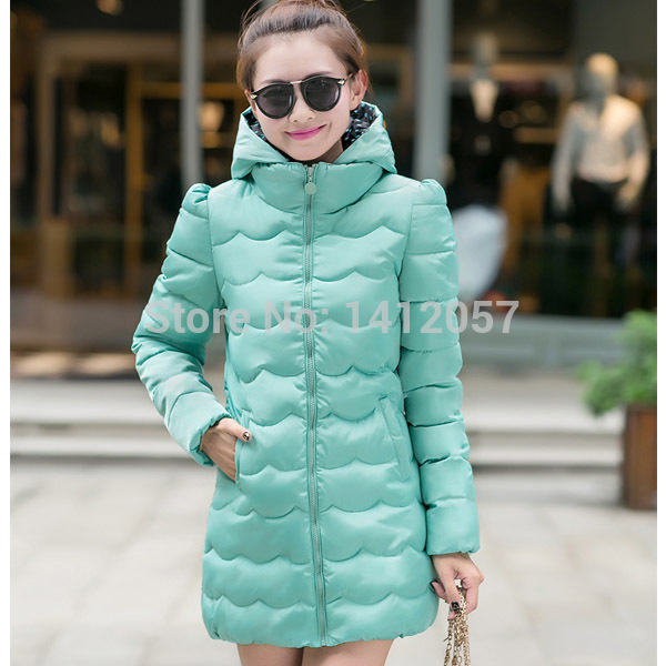 omen Coat Top Fashion Freeshipping Full 2015 Hooded Institute Wind Winter Coat New Female Thin Eiderdown Jacket Long Slim Women(China (Mainland))