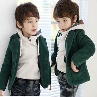 (Free Shipping)New Arrival Child Baby Boy Autumn Blazer Suit Winter Outerwear Cheap Sale,In Stock