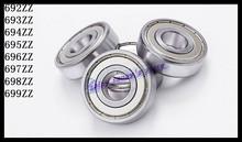 Buy 30pcs/Lot 693ZZ 693 ZZ 3x8x4mm Mini Ball Bearing Miniature Bearing Deep Groove Ball Bearing for $6.75 in AliExpress store