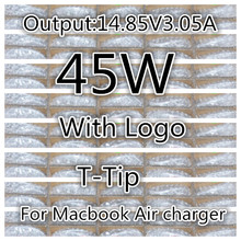 """Bonne Qualité 14.85 V 3.05A pour apple Magsafe 2 45 W ordinateur portable Adaptateur secteur Chargeur pour MacBook Air 11 """"13"""" A1465 A1436 A1466 A1435(China (Mainland))"""