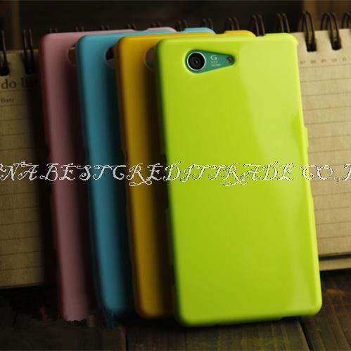Гаджет  New colorful silicone soft gel tpu cover case for sony xperia z3 Compact / Mini case flip cover 9 colors None Телефоны и Телекоммуникации