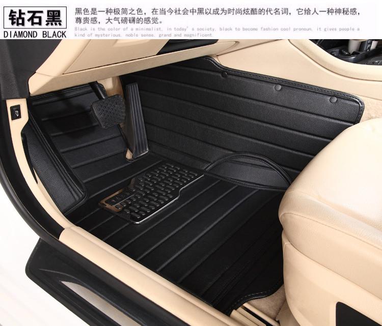 tasteless waterproof XPE non slip full surround car floor mats GREAT WALL HAVAL H2 H3 H5 H6 M1 M2 M4 MG3SW MG3 MG 5 MG6 MG7  -  NO1STORE store