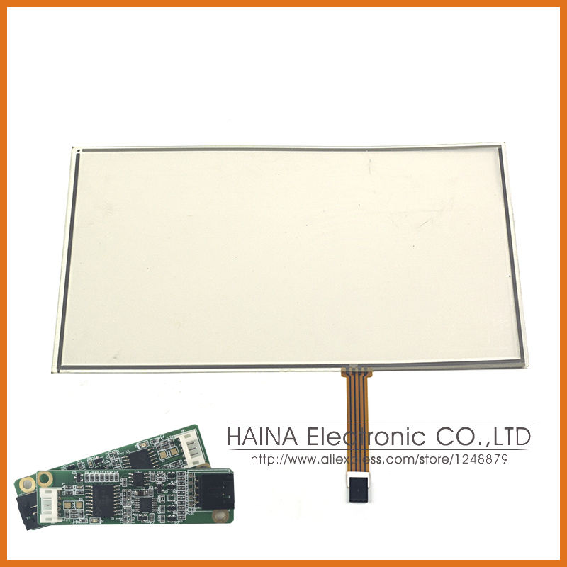 17.3 4 wire resistive USB touch screen overlay kit, computer monitor touch screen 17.3 with USB controller<br><br>Aliexpress