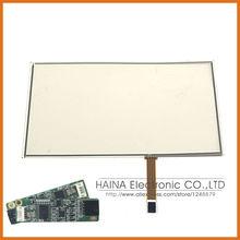 17.3 4 touch screen resistivo usb kit di sovrapposizione, monitor del computer touch screen 17.3 con controller usb(China (Mainland))