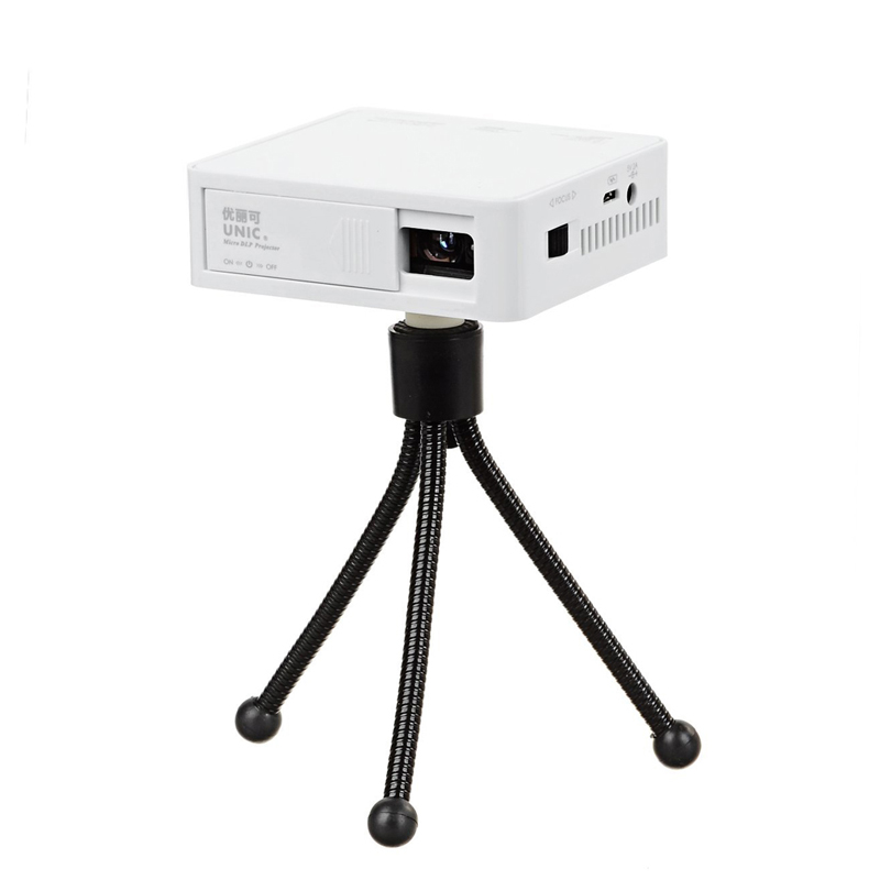 Newest christmas gift original unic uc50 handheld micro for Micro dlp projector