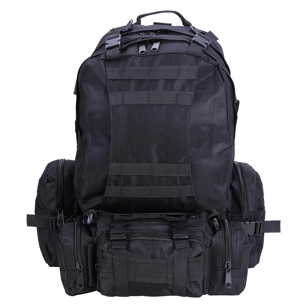 Outdoor Military Molle Army Tactical Backpack Rucksack Sports Camping Hiking Bag Black Pack(China (Mainland))